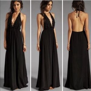 For love & lemons | NWOT Camilla black maxi dress